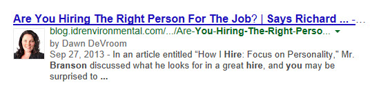 Should I use Google Authorship?