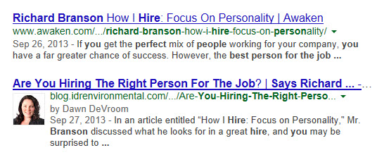 should i use google authorship