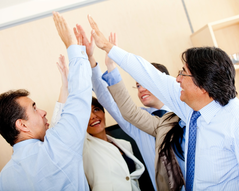 convert more leads into sales high five
