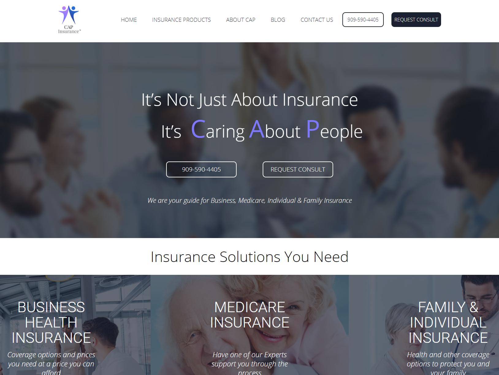 Cap Insurance