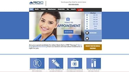 regenerative orthopedic clinic